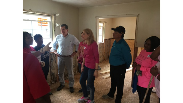 NC Governor, First Lady helping rebuild one year after Hurricane Matthew