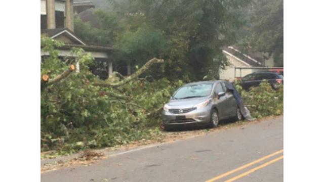 Tornado confirmed in Greenville, Polk counties