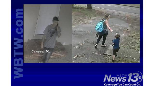 Police release photos of Myrtle Beach burglary suspects, child