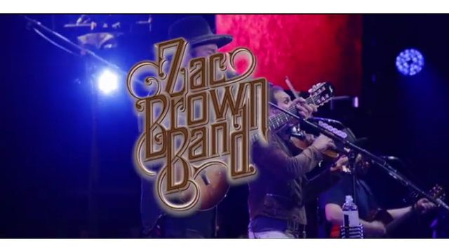 Zac Brown Band announced as headliner for CCMF 2018