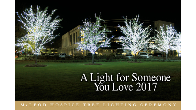 32nd Annual McLeod Hospice Tree Lighting Ceremony announced