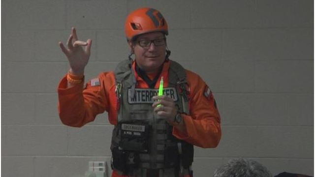 Training aims to help deaf people during an emergency