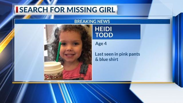 Police search for missing 4-year-old girl out of Charleston