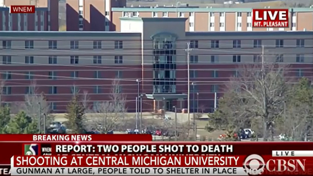 2 fatally shot in dorm at Central Michigan University