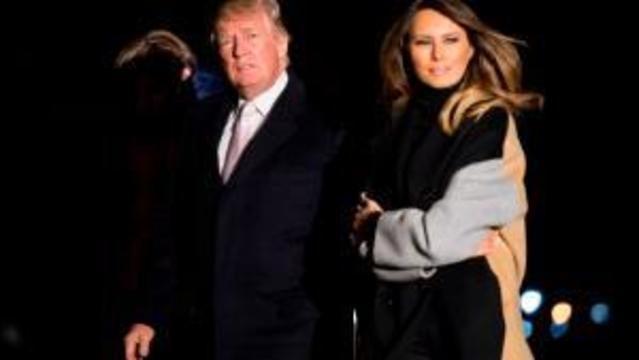 First lady Melania to attend Gridiron dinner with Trump