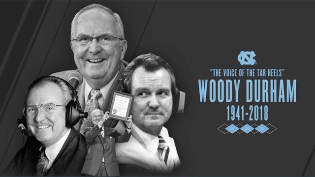 Legendary UNC broadcaster Woody Durham dies