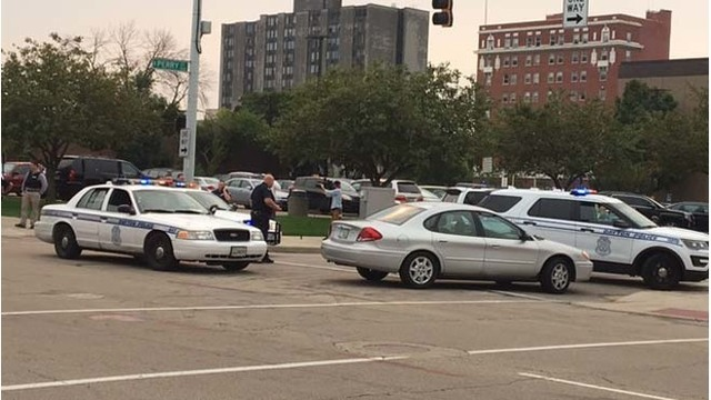 Dayton Police officer hit by vehicle
