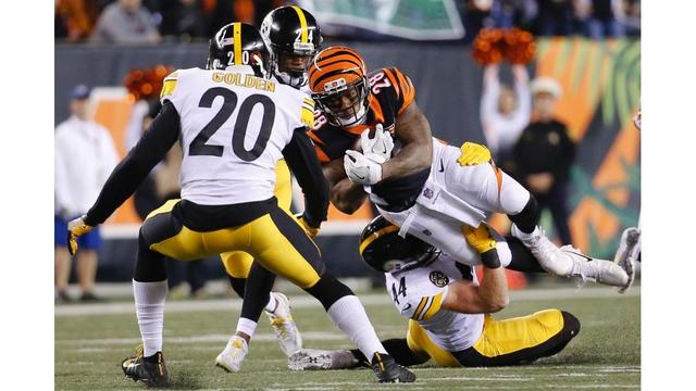 NFL: 2 suspensions levied for dirty hits in Bengals-Steelers game
