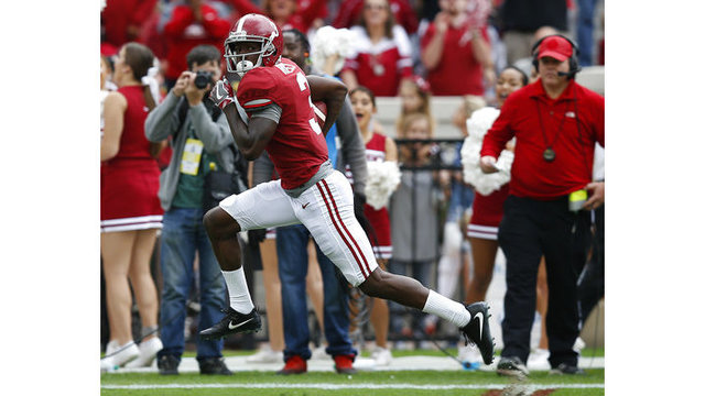 Alabama WR Calvin Ridley entering 2018 NFL Draft