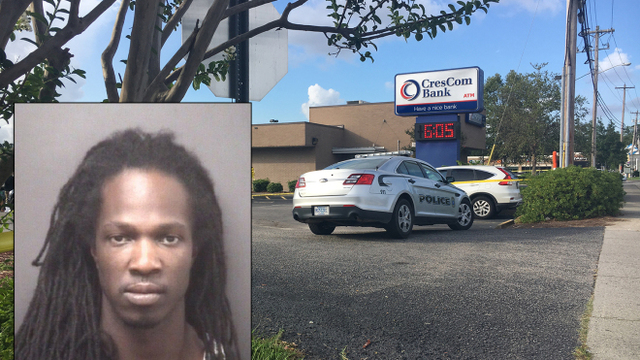 Man arrested in NC faces murder charges for deadly SC bank robbery
