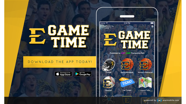 ETSU Game Time App ready to assist fans in 2017-18