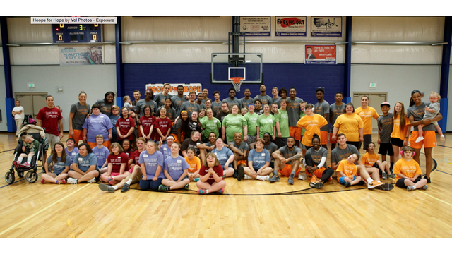 Vols and Lady Vols participate in 10th annual Hoops for Hope