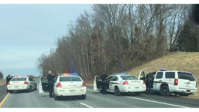 JCPD: Interstate shut down, guns drawn; Man pulled over not the suspect