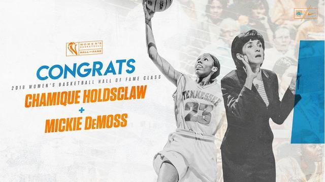 Holdsclaw, DeMoss to join Women's Basketball Hall of Fame
