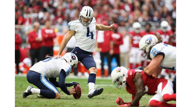 Titans, Kicker Ryan Succop Agree to Contract Extension