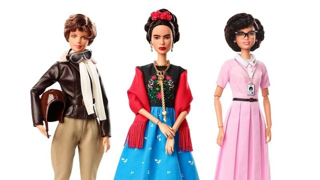 These Barbies are inspired by iconic real-life women