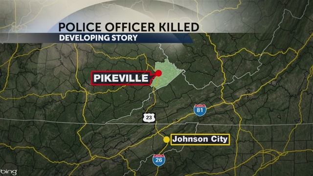 Suspect in killing of Ky. police officer still on the loose