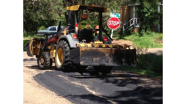 City officials: 1 percent sales tax used to repave roads