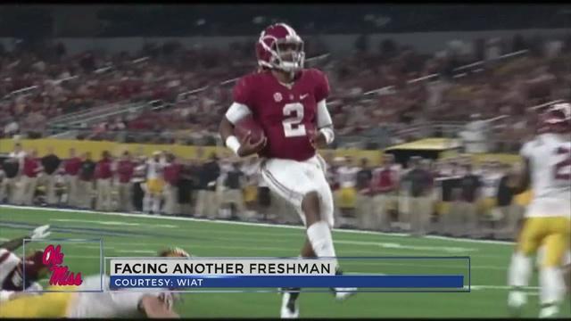 Freeze sees similarities between freshmen Francois and Hurts