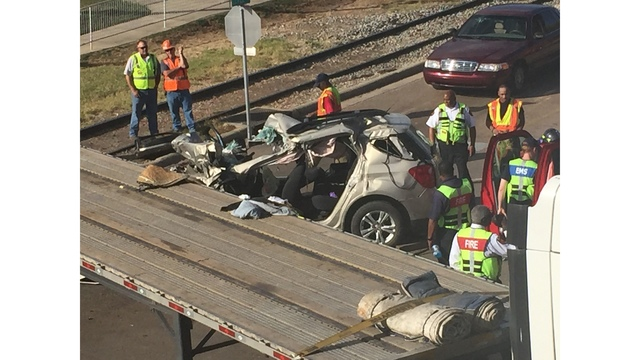 Fatal accident in Vicksburg near Levee, Clay streets
