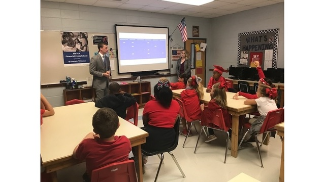 Hancock Whitney Bank brings 'Financial Cents Series' to Petal school
