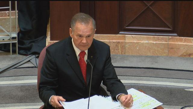 BREAKING NEWS: Alabama Chief Justice Roy Moore Suspended Without Pay