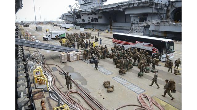 US Marines headed to hurricane-ravaged Haiti with relief