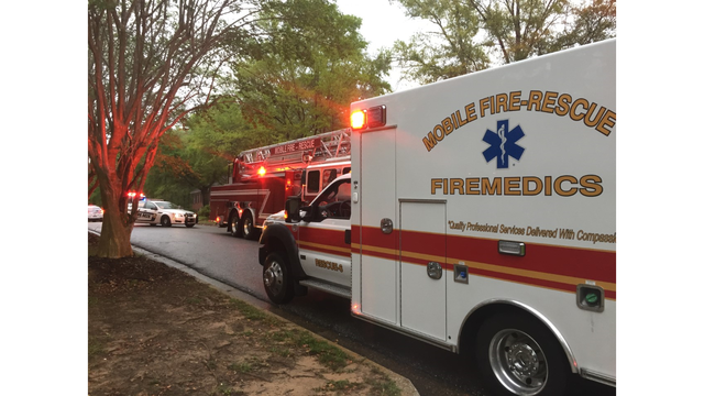 Mobile Firefighter Hospitalized in House Fire Caused by Lightning Strike