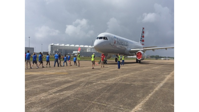 Plane Pull Tests Teams Strength