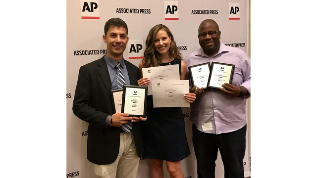 News 5 Wins at State Associated Press Awards