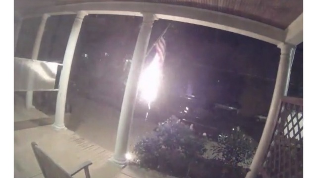 Man Arrested for Burning American Flag, Caught on Camera