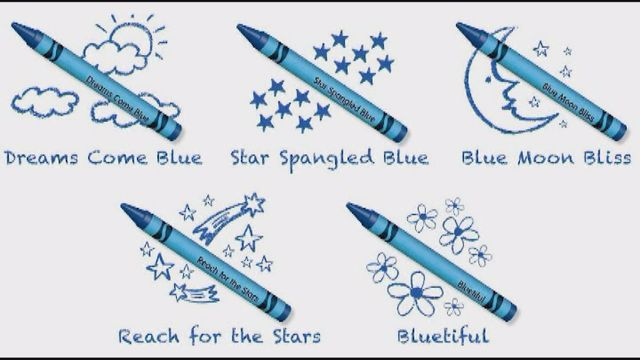 Crayola Unveiled Fans' Top Pick for the New Blue