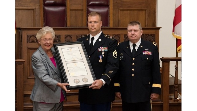 Alabama Corrections Captain and Army Guardsman Receives Soldier's Medal