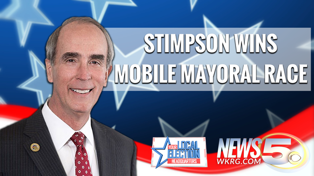 Sandy Stimpson Wins Re-election as Mobile's Mayor
