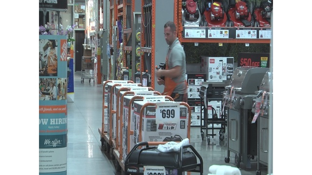 Baldwin County Stores Prepare For Possible Storm