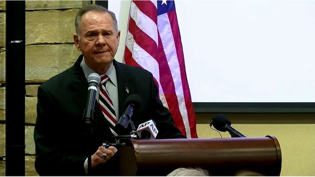 Roy Moore to Speak at Theodore Church on Wednesday