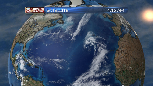 Newest Tropical Disturbance In The Atlantic