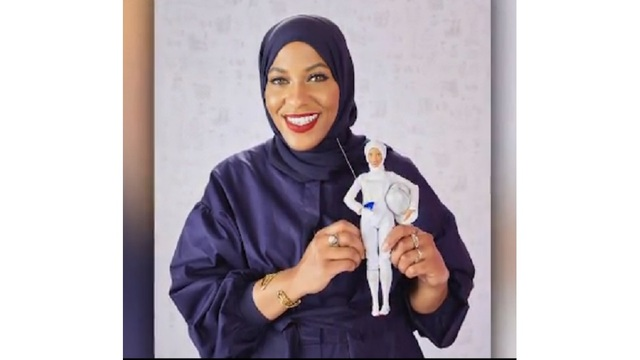 Barbie Introduces First Doll to Wear Hijab, Modeled After U.S. Olympic Athlete