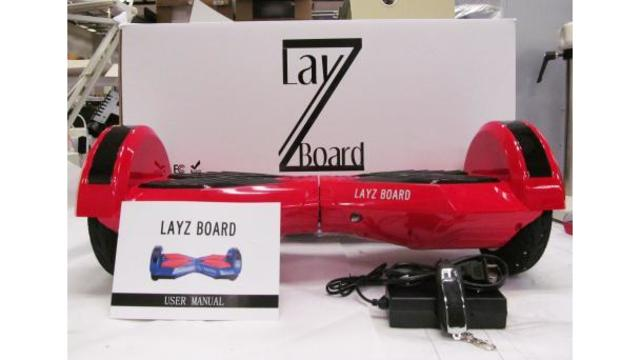 Seven brands of hoverboards recalled due to fire, explosion hazards