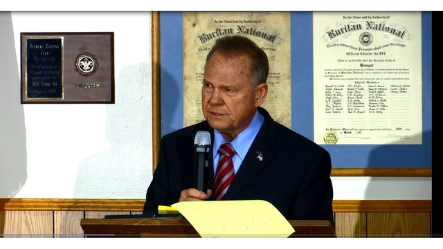 Moore Says 'Dirty Politics' Behind Allegations