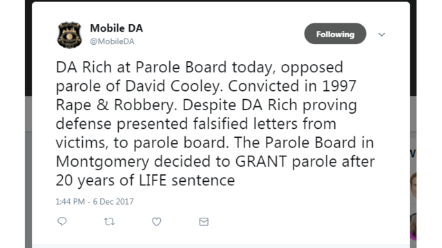 is the parole board letting criminals Not letting criminals go on parole prevents them from committing further crimes and protects the people in our society parole board #parole is the system.