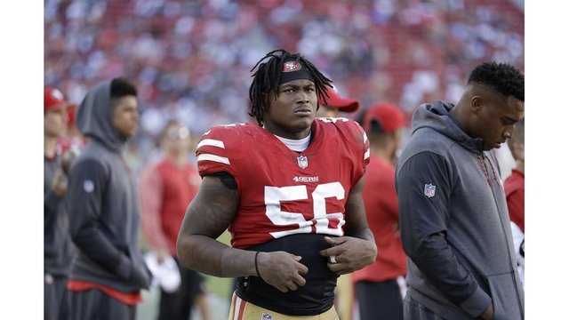 49er linebacker Ruben Foster arrested in Alabama for marijuana posession