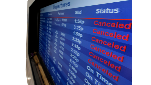 ABIA warns passengers to check flight status ahead of winter weather