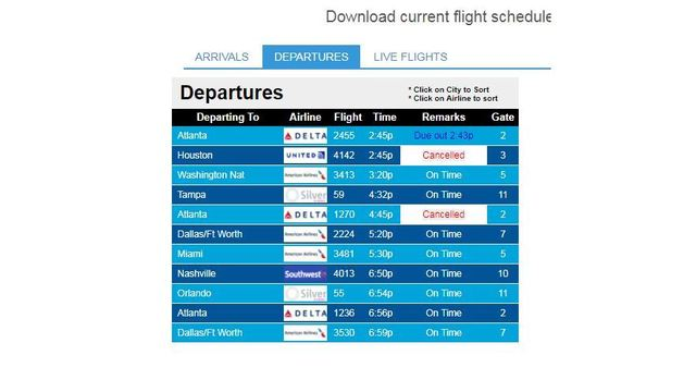 Flight delays, cancellations due to winter weather
