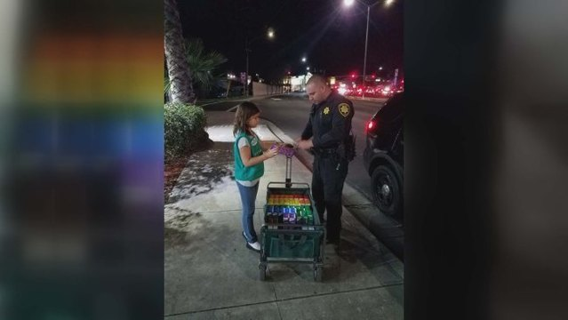 Concord police locate 'missing' girl selling Girl Scout cookies