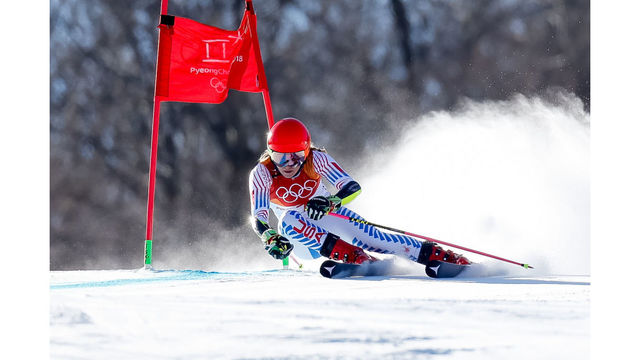 Mikaela Shiffrin said she was 'kind of puking' before first slalom run
