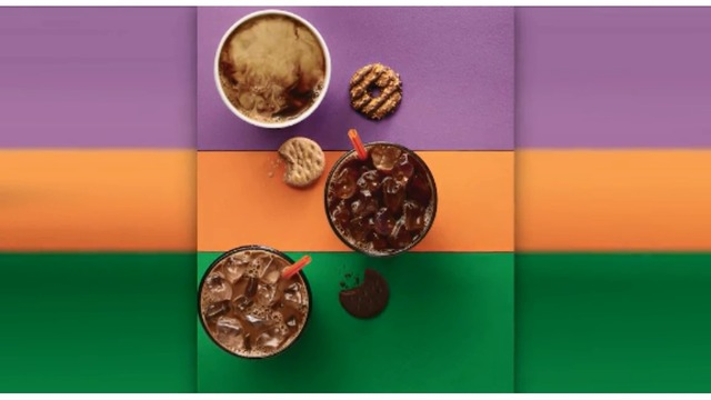 Dunkin' Donuts announces Girl Scout cookie coffee