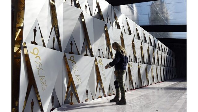 90th Academy Awards show whiles away the hours today