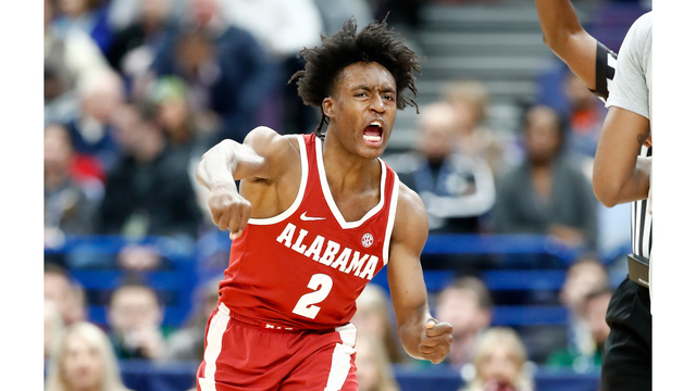 Collin Sexton hits buzzer-beating floater to save Alabama in SEC Tournament