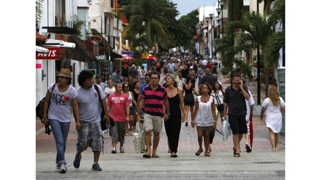 Mexico Playa del Carmen threat unrelated to ferries